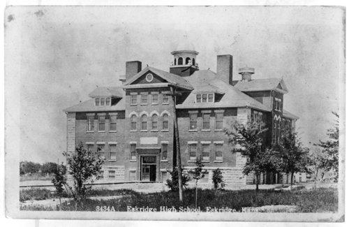 Exterior view of Eskridge High School - Page