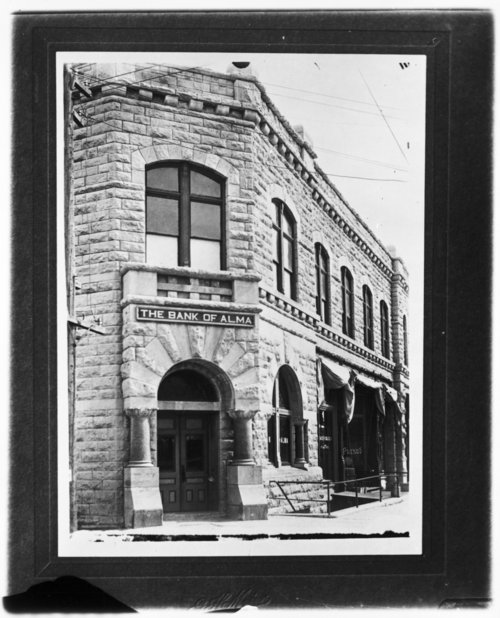 The Bank of Alma in Alma, Kansas - Page