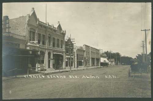 Kinnie and Kearns block in Alma, Kansas - Page