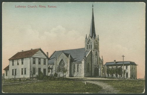 St. John's German Evangelical Lutheran Church in Alma, Kansas - Page