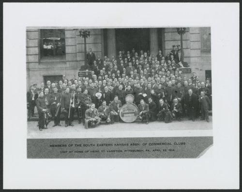 South Eastern Kansas Association of Commercial Clubs at Pittsburgh, Pennsylvania - Page
