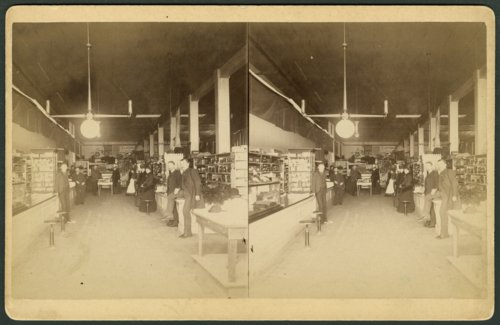 Store interior in either Garden City or Dodge City, Kansas - Page