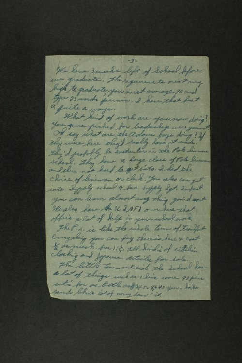 William Lloyd Lamb to family - Page