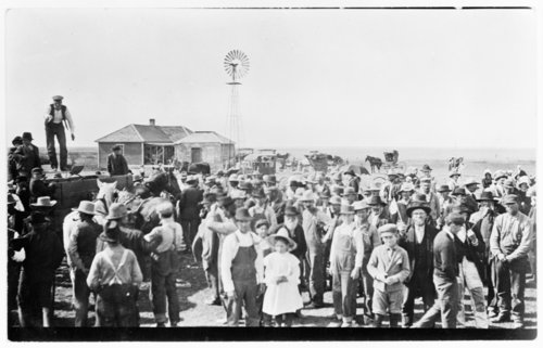 Farm auction, unidentified location - Page