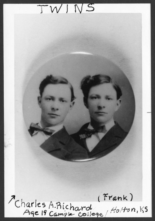 Charles A. and Frank Richard - Page