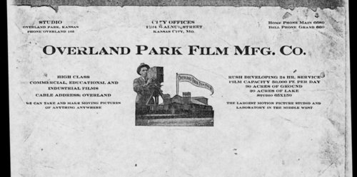 Overland Park Film Manufacturing Company advertisement - Page