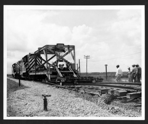 Atchison, Topeka & Santa Fe Railway Company track plow - Page