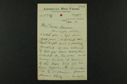Henry J. Allen, World War I correspondence - Page