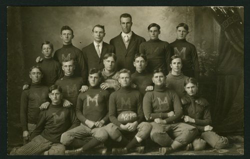 1911 Mount Hope High School football team in Mount Hope, Kansas - Page