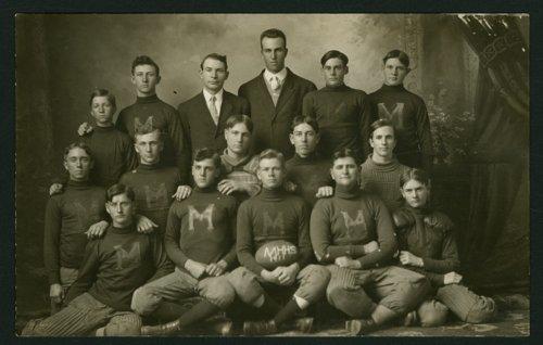 1911 Mount Hope High School football team in Mount Hope, Kansas - Page