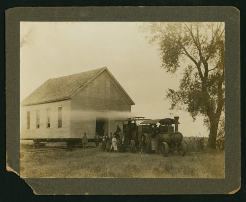 Moving a building in Mount Hope, Kansas - Page