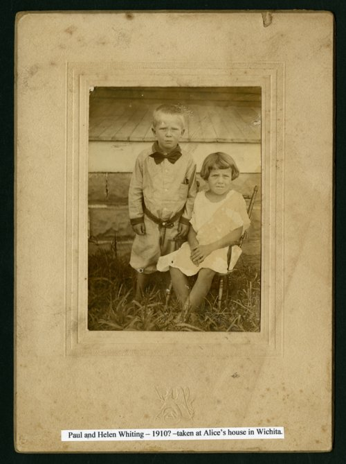 Paul and Helen Whiting in Wichita, Kansas - Page