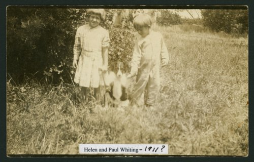 Helen and Paul Whiting with their dog in Mount Hope, Kansas - Page