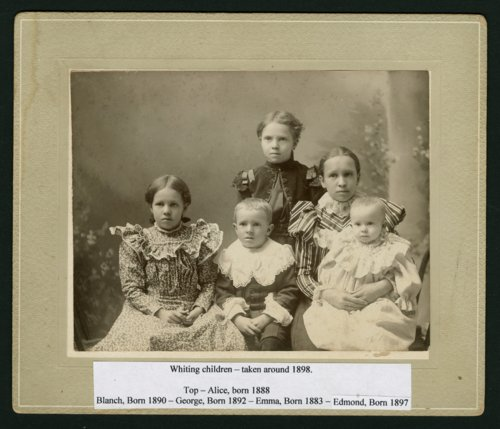 Whiting children in Mount Hope, Kansas - Page
