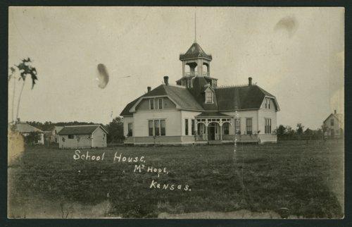 School in Mount Hope, Kansas - Page