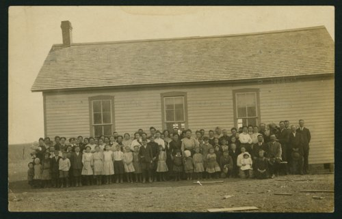 Students, teachers and parents at a rural school near Mount Hope, Kansas - Page