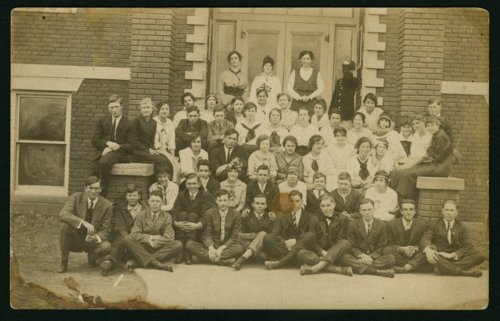 Mount Hope High School group in Mount Hope, Kansas - Page
