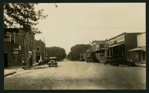 Street scene in Mount Hope, Kansas - Page