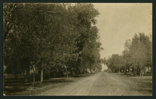 South Ohio Street looking north toward downtown Mount Hope, Kansas - Page