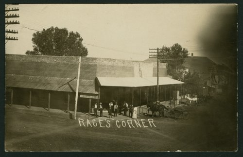 Race's corner in Mount Hope, Kansas - Page