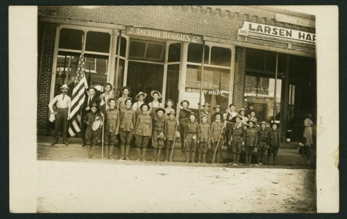 Boy Scout troop in Mount Hope, Kansas - Page