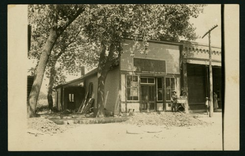 Tobacco store on south Ohio Street in Mount Hope, Kansas - Page