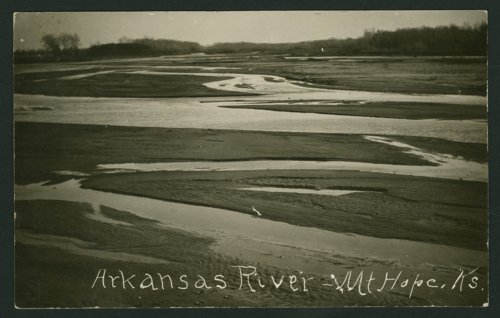 Arkansas River near Mount Hope, Kansas - Page