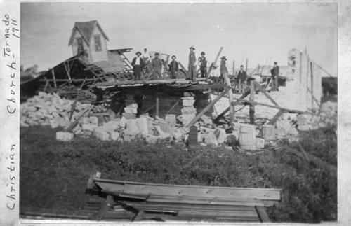 Tornado damage in Eskridge, Kansas - Page