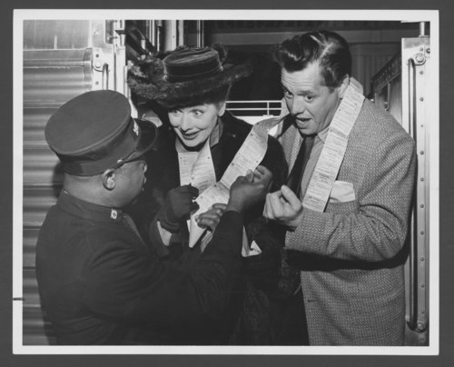 Atchison, Topeka & Santa Fe Railway Company's famous passengers--Lucille Ball and Desi Arnaz - Page