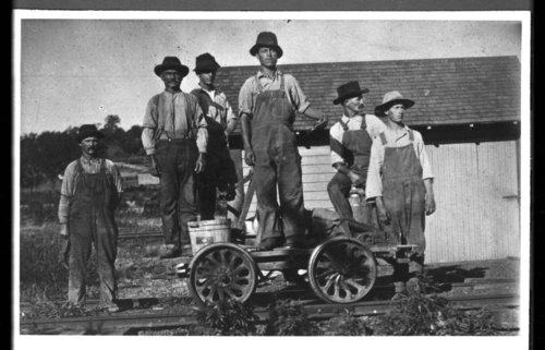 Kansas City, Wyandotte & Northwestern track crew, Goff, Kansas - Page