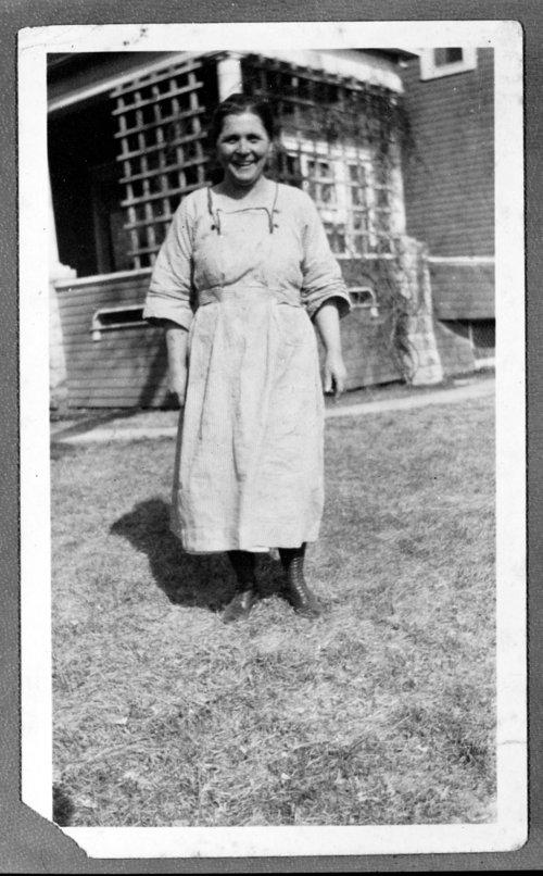 Woman at Rogler Ranch - Page