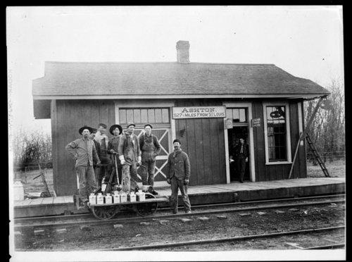 Track crew, Ashton, Kansas - Page