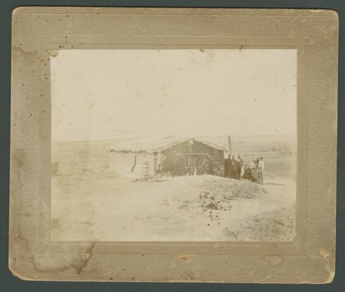 Woods family sod house in Edwards County, Kansas - Page