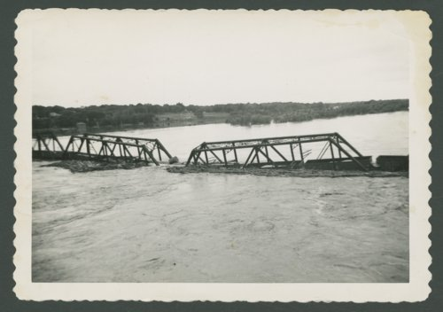Chicago, Rock Island & Pacific Railroad bridge in Topeka, Kansas - Page