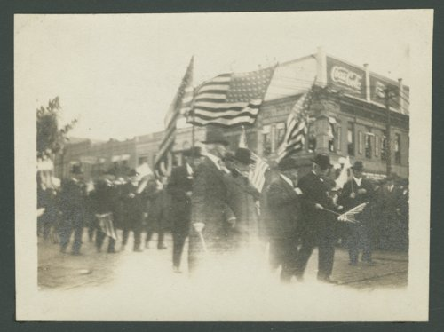 35th Division marching on Topeka Avenue in Topeka, Kansas - Page