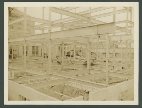 Construction on the Post Office and Federal Courthouse in Topeka, Kansas - Page