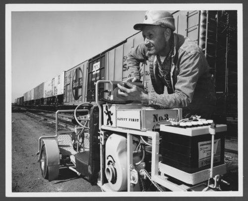 "Atchison, Topeka, & Santa Fe Railway Company's ""yardbird"" - Page"