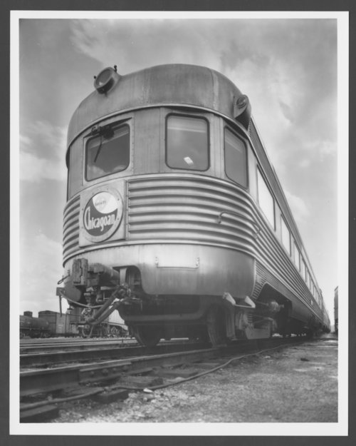 "Atchison, Topeka & Santa Fe Railway Company's ""Chicagoan"" - Page"