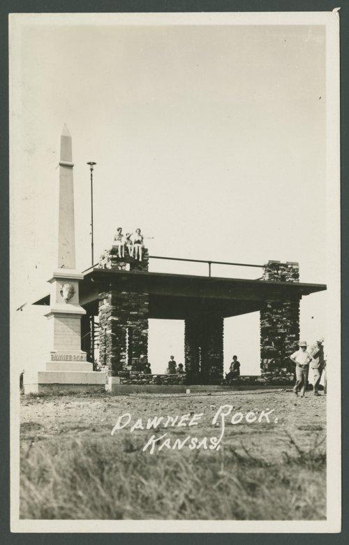 Pawnee Rock, Barton County, Kansas - Page