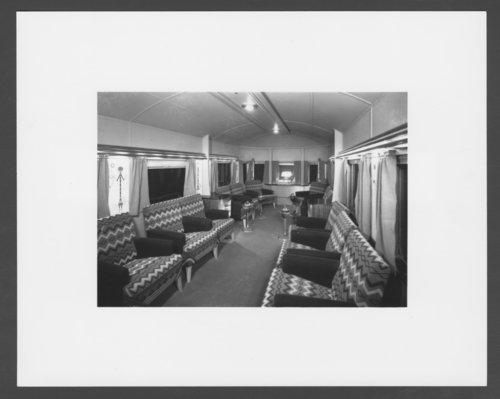 Atchison, Topeka & Santa Fe Railway Company's observation car - Page