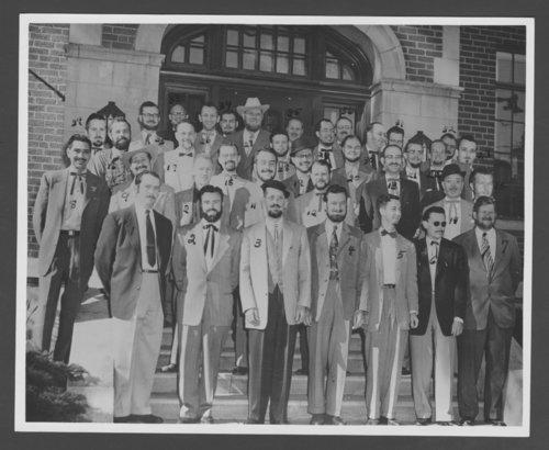 Kansas Territorial Centennial beard contest - Page