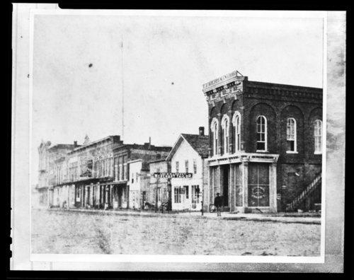 Street scene, Emporia, Kansas - Page