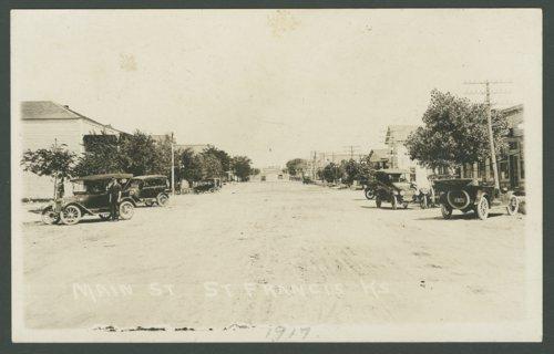 Main Street, St. Francis, Kansas - Page