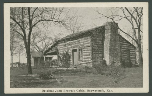 Adair-Brown cabin, Osawatomie, Kansas - Page