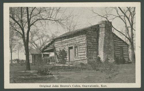 Adair-Brown cabin, Osawatomie, Kansas - Page