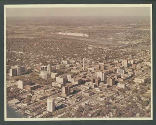 Aerial photograph of Topeka, Kansas - Page