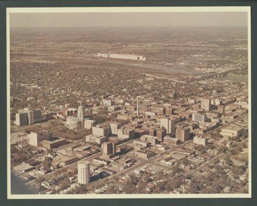 Aerial photograph of Topeka, Kansas - Page