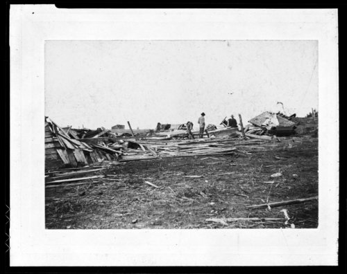Tornado damage, Coldwater, Kansas - Page