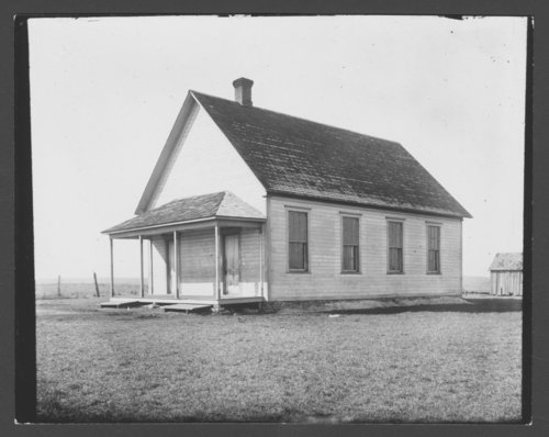 School north of Maple Hill, Kansas - Page