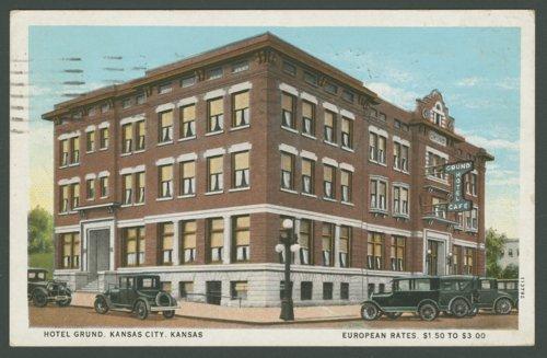 Grund Hotel in Kansas City, Kansas - Page